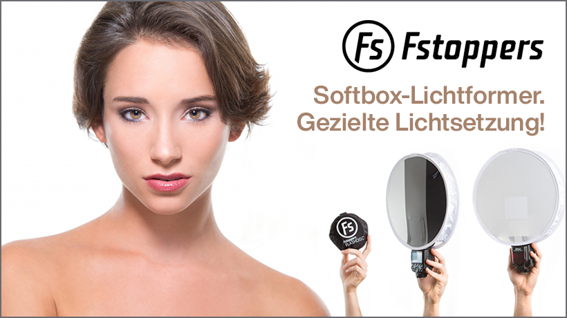 Fstoppers Flashdisk Faltbarer Softbox-Lichtformer