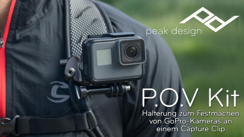 Peak Design P.O.V. Kit Adapter für GoPro
