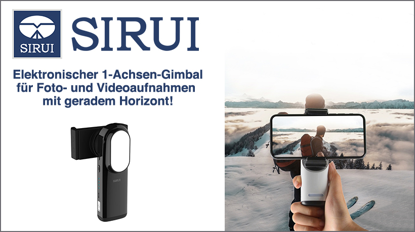 Sirui Pocket Stabilizer