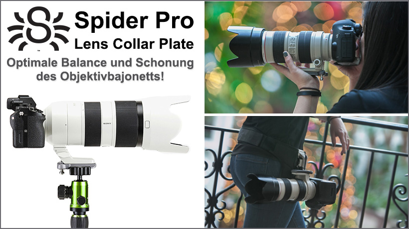 Spider Pro Lens Collar Plate