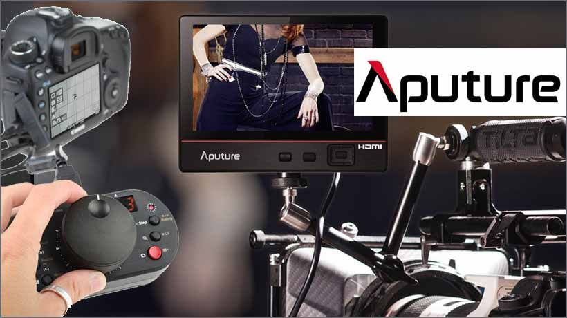 Aputure LCD Field Monitore, Follow Focus, LED Leuchten