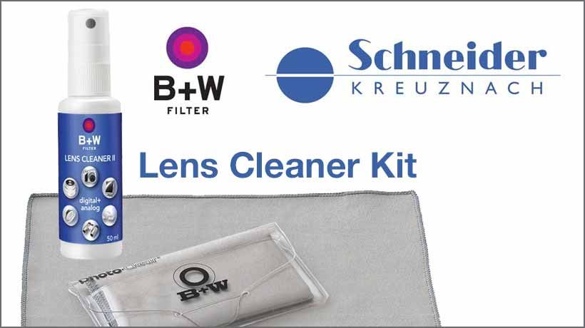 B&W Lens Cleaner Kit