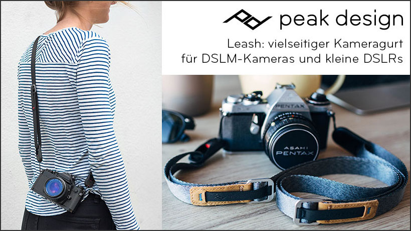 Peak Design Leash Kameragurt