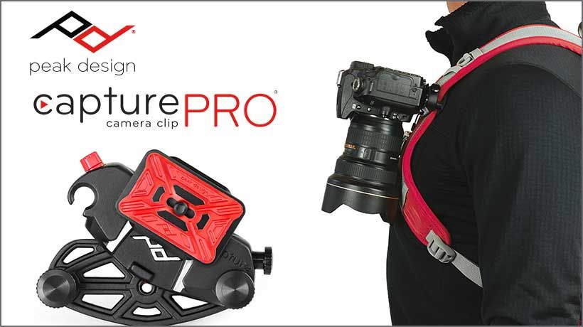 Peak Design CapturePro Clip f�r Rucks�cke