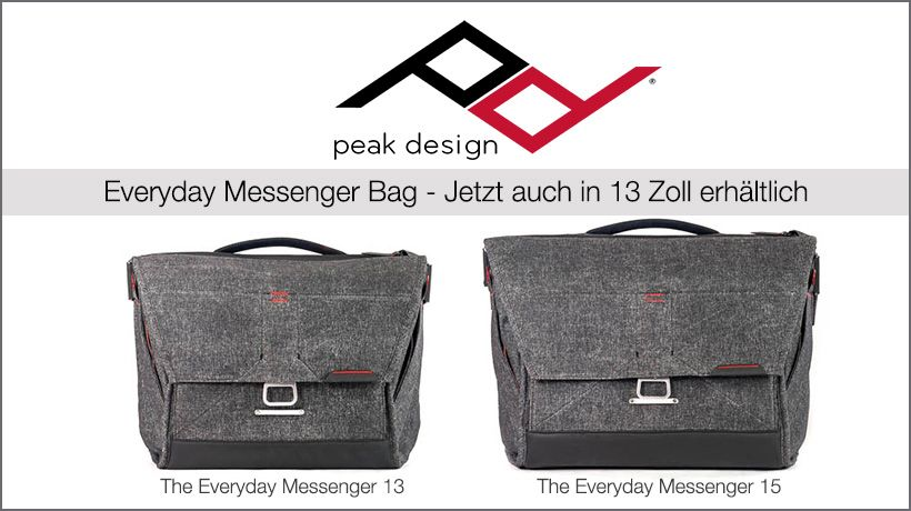 Peak Design Everyday Messenger Bag 13 Zoll