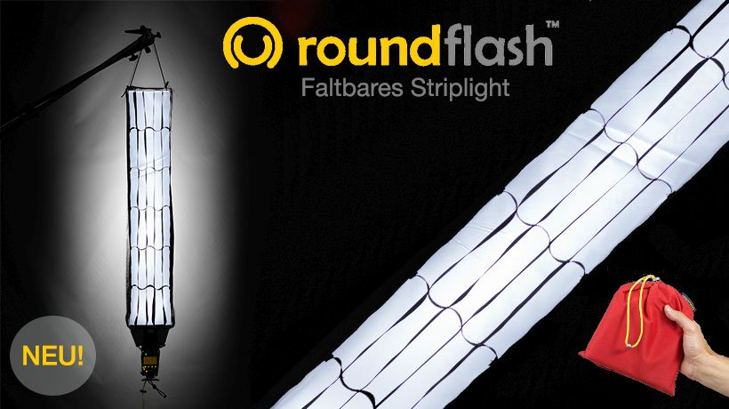 RoundFlash Strip Light Striplight-Softbox