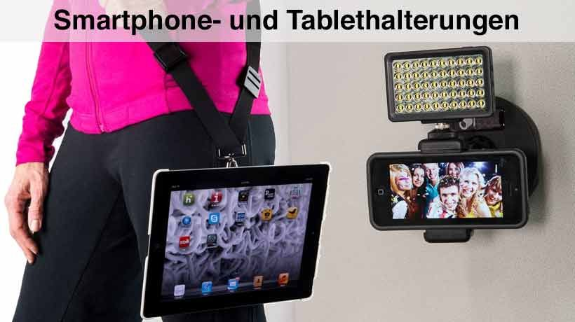 iPhone iPad und Smartphone Tablet Halterungen