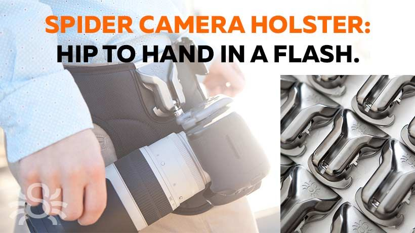 SPIDER CAMERA HOLSTER H�ftgurte