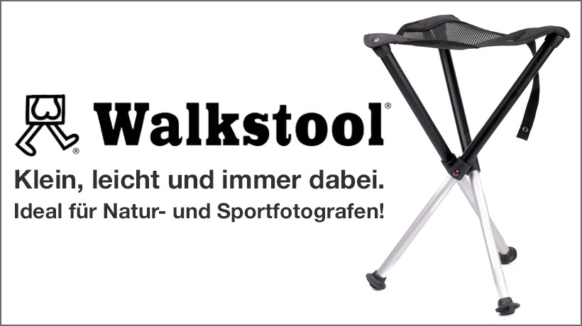 Walkstool Falthocker