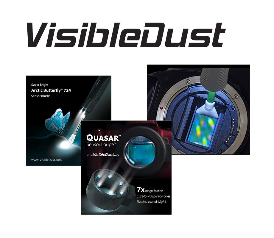 VisibleDust Sensor Cleaning