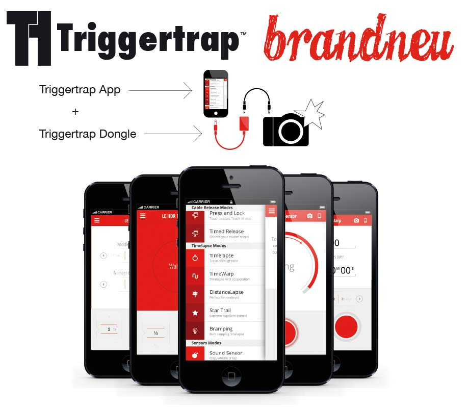 TRIGGERTRAP Smartphone cable remote