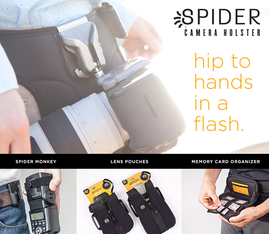 SPIDER CAMERA HOLSTER hip straps
