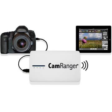 CamRanger Wi-Fi Dongle Fernsteuerung für Canon & Nikon DSLRs per iOS, Android, Kindle Fire, Mac & PC