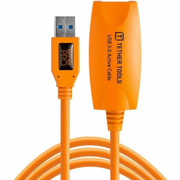 Tether Tools TetherPro USB 30 Active Extension Cable Aktives USB Verlängerungskabel  49 Meter orange