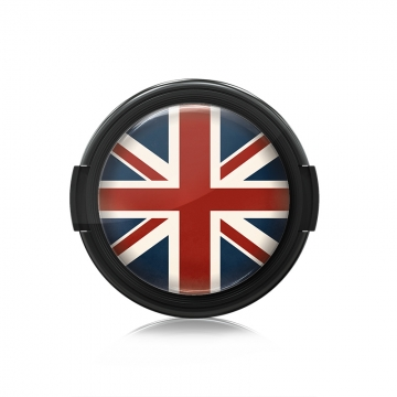 Paintcaps MotivObjektivdeckel Union Jack 43 mm  mit Rastmechanik