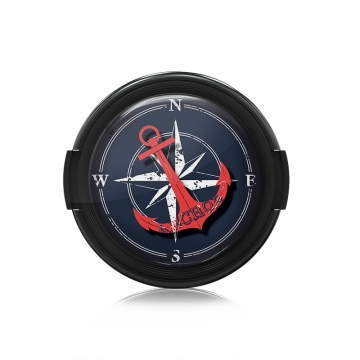 Paintcaps MotivObjektivdeckel Anchor 39 mm  mit Rastmechanik