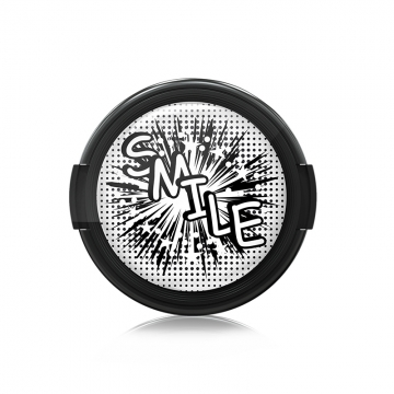 Paintcaps MotivObjektivdeckel Comic Smile 43 mm  mit Rastmechanik