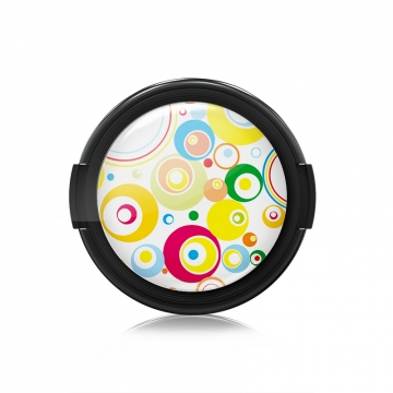 Paintcaps MotivObjektivdeckel Circles 46 mm  mit Rastmechanik