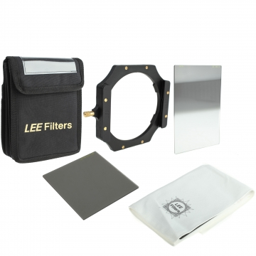 LEE Filters Digital SLR Starter Kit mit Foundation Kit Filterhalter ND 06 Hard Grad Grauverlaufsfilter ProGlass ND 06 Graufilter und Etui