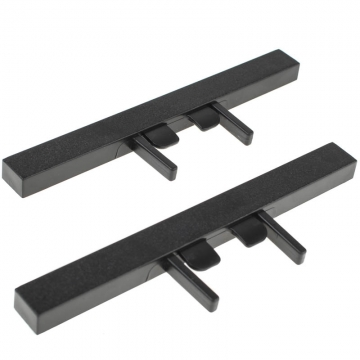 LensRacks Single Rail Kit Stands Ersatz-Standfüße für LensRacks Alu-Objektivschiene aus Single Rail Kit