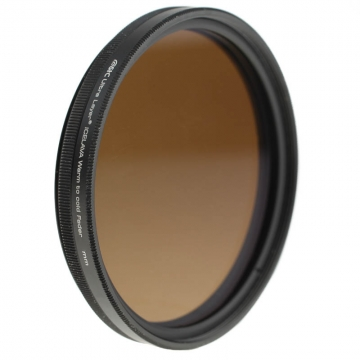 STC Optics Icelava Warm-to-Cold-Fader Farbtemperatur-Filter für Objektive 58 mm