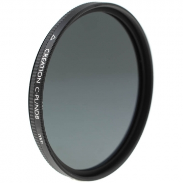 Marumi Creation CPL/ND8 2in1-Filter - vereint Zirkular-Polfilter und Graufilter - ND 0,9 (+3 Blenden) - 58 mm