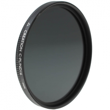 Marumi Creation CPLND16 2in1Filter  vereint ZirkularPolfilter und Graufilter  ND 12 4 Blenden  77 mm