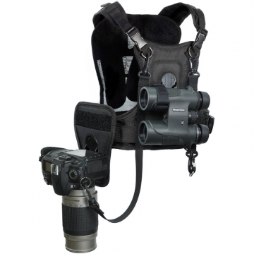 Cotton Carrier Camera and Binocular Harness  Brustgeschirr als Tragesystem für 1 Kamera und 1 Fernglas