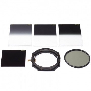 LEE Filters Deluxe Kit 100mm inkl Filterhalter CPLFilter Big Stopper und 3 Grauverlaufsfilter
