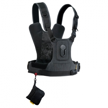 Cotton Carrier Camera Harness G3 Charcoal  Brustgeschirr als Tragesystem für 1 Kamera