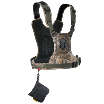 Cotton Carrier Camera Harness G3 Camo  Brustgeschirr als Tragesystem für 1 Kamera