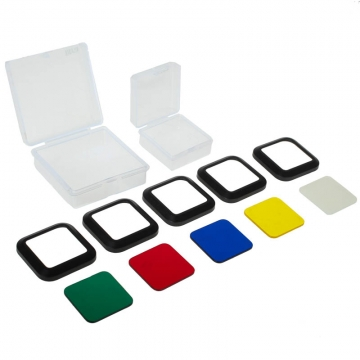 Litra Marine/Color Filter Set - Farbfilter-Set für die LitraTorch-LED-Leuchte