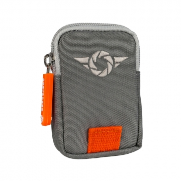 Cosyspeed ST-Wallet mit RFID-Schutz grau/orange