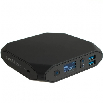 Omnicharge Omni20 USBC Powerstation mit 20400 mAh für Laptops Tablets Lautsprecher Smartphones etc