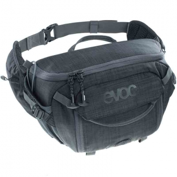 Evoc Hip Pack Capture 7 L Heather Carbon Grey Hüfttasche für 1 DSLM 1 Blitz und 1 Stativ