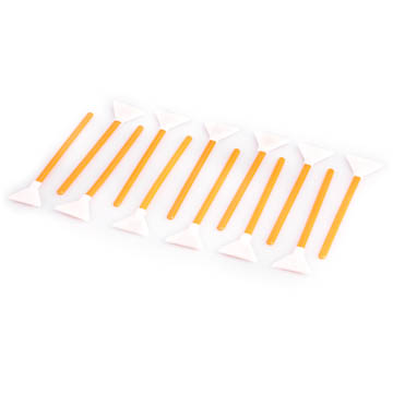 12x Sensor Cleaning Swabs orange 1,0x VisibleDust Vswabs