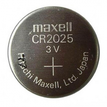 Maxell CR2025 Lithium Knopfzelle 3V