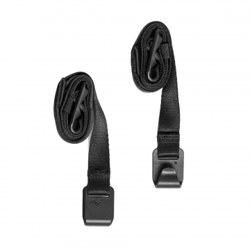Peak Design External Carry Straps Long - Lange Spannriemen für Everyday-Line Rucksäcke  - Black (Schwarz)
