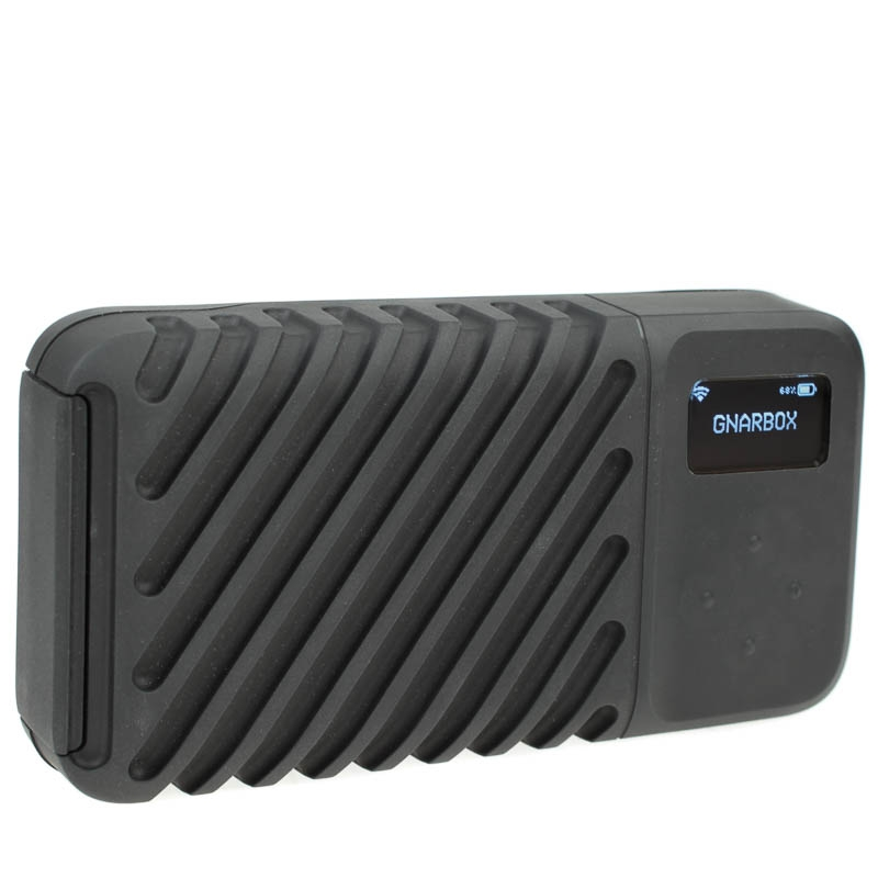 GNARBOX 2.0 SSD 256 GB App-gesteuerte Stand-Alone Backup-SSD