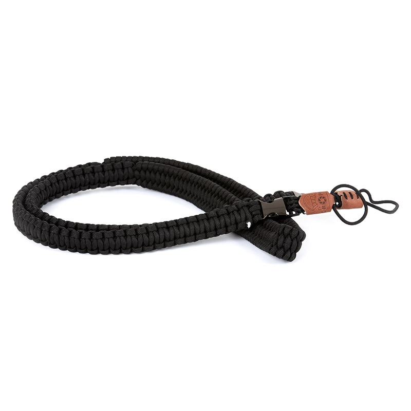 C-Rope The Traveler Kameragurt für DSLR - 125 cm, Silent Black