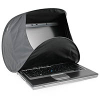 Hoodman HoodPC 1416 Sunshade for Notebooks