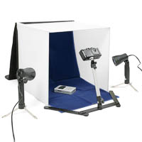 Bilora Mini Photo Studio with Light Tent, Minipod & 2 Lamps