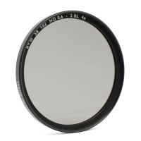 B+W Neutral Density Filter 25% f-stop +2 72mm coated