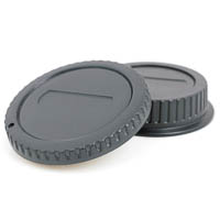 JJC Lens Rear Cap & Body Cap Set for Canon EOS