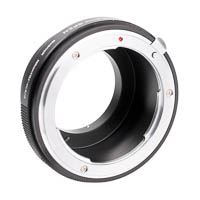 Lens Mount Adapter Nikon F  Micro Four Thirds with aperture ring