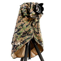 Matin Camouflage Rain Cover for DSLRs 180mm