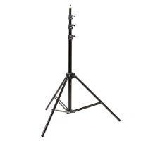 Matin Studio Lamp Tripod - air-cushioned, 86-300cm