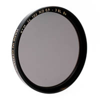 B+W 103 Neutral Density Filter f-stop +3 72mm coated