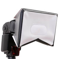 Mobile Softbox LumiQuest f�r Aufsteckblitze