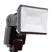 Mobile Mini Softbox LumiQuest f�r Aufsteckblitze